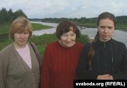 З Марыяй і Верай Ягоўдзік. 2006 г.