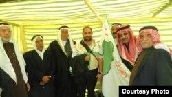 حسن حمدان مع وجهاء من محافظة نينوى