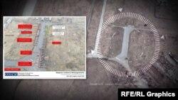 Техніка, яка потрапила під обстріл, розташовувалась поруч зі злітною смугою Музею авіації та місцевого авіаційного училища. Таку інформацію 14 квітняопублікувала місія ОБСЄ