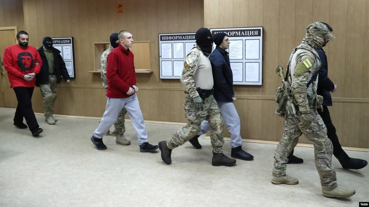 В Москве рассматривают жалобы на арест украинских моряков