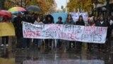 Марш на толеранција во организација на Хелсиншки комитет за човекови права. Фото од Фејсбук страна на Хелсиншки комитет.