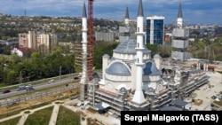 Будівництво Соборної мечеті в Сімферополі