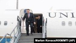 Майкл Помпео прибув до Будапешта, 11 лютого 2019 року
