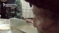 Drinking Buckets Of Bozo In Kyrgyzstan