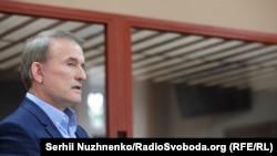 Виктор Медведчук в суде, Киев, 13 мая 2021 года