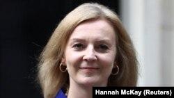 British Foreign Secretary Liz Truss