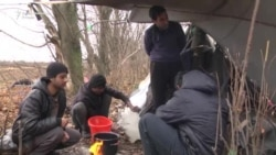 RSE sa migrantima kod Sombora: Ima li mesta u šatoru?