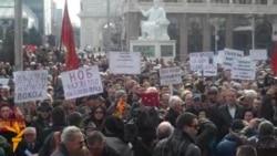 Борците со февруарски поход на плоштад