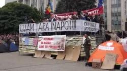 У Кішынёве працягваюцца пратэсты