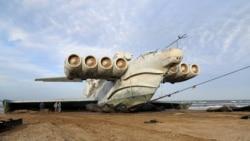 """Заброшенный """"Каспийский монстр"""""""