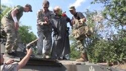 Ада Роговцева привезла спектакль на передову (відео)