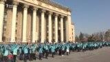 «Куратор привел». Студенты и подготовка к Дню первого президента