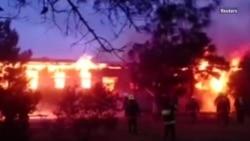 Пожар в центре реабилитации наркозависимых в Баку