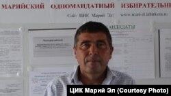 Сергей Казанковтың әкесімен аттас кандидат Иван Иванович Казанков.