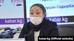 Аида Суйундуева.