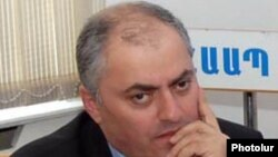 Armenia -- Armen Alaverdian, deputy head of the State Revenue Commitee.