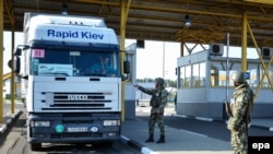 The 25-year-old Austrian man was arrested as he was trying to cross into Ukraine at the Polish border post of Dorohusk (file photo)