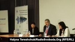 Рефат Чубаров на Крымском форуме во Львове 11 ноября 2016 года