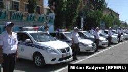 Қырғызстан полициясы.