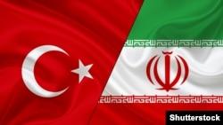 Flamujt e Turqisë dhe Iranit