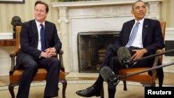 Բարաք Օբամայի եւ Դեյվիդ Քեմերոնի հանդիպումը Սպիտակ տանը, 13-ը մայիսի, 2013թ.