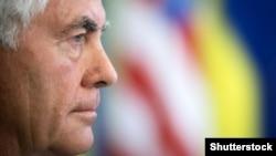 државниот секретар на САД Рекс Тилерсон