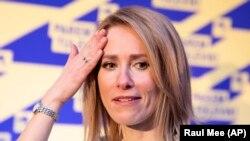 Kaja Kallas, președinta Partidului Reformei desemnată să facă guvernul