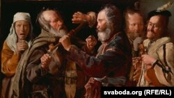 Жорж дэ Лятур, «Сварка музыкантаў» (1625-1630)