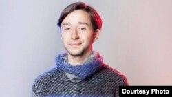 Владо Данаилов, член на младинската организација Мугра.