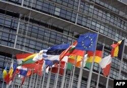 Flamujt e vendeve anëtare të BE-së