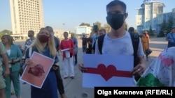 Організатори сподіваються, що Сумська міська рада ухвалить рішення на підтримку білоруських протестувальників