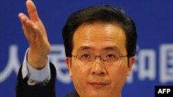 Хонг Леи, портпарол на кинеското МНР