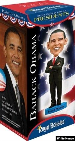 """Кукла """"Барак Обама"""", сувенирная лавка Белого Дома"""