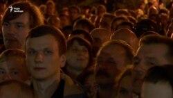 «Формула Штайнмаєра»: на Банковій мітингували кілька тисяч людей – відео
