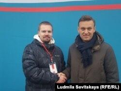 Алексей Дорожкин и Алексей Навальный