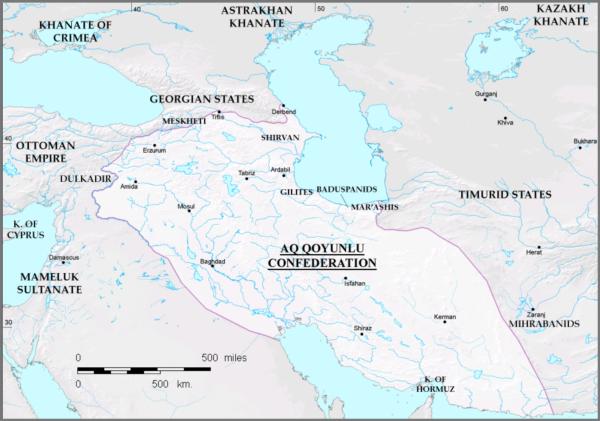 Uzun Həsənin hakimiyyəti dövründə Ağqoyunlu dövləti - 1453 - 1478