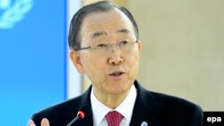 Генералниот секретар на ОНБан Ки Мун