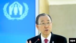 Ban Ki-moon, generalni sekretar UN