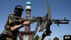 گشت «نیروهای ویژه» طالبان در محله مسعود در کابل