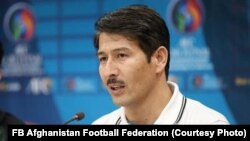 عبدالرازق ممرک، به عنوان نماینده رسمی فدراسیون فوتبال افغانستان