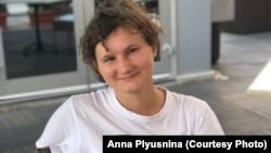 Anna Plyusnina, a lawyer for the LGBT Resource Center in Yekaterinburg