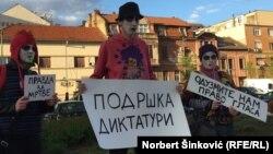 Demonstranti u Novom Sadu