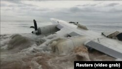 Avionul prăbușit în apropiere de Abidjan