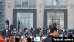 Кишинев: между оппозицией и правительством встала полиция