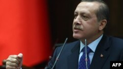 Түркия премьер-министрі Режеп Тайып Ердоған. Анкара, 6 наурыз 2012 жыл.