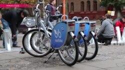 Во Львове установили станции муниципального велопроката – первой подобной сети в Украине