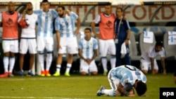 Messi penatini vura bilmədi.