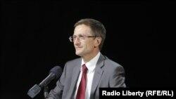Николай Левичев в студии Радио Свобода