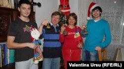 Familia lui Valeriu Ticu