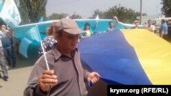 День кримськотатарського прапора в Новоолексіївці Генічеського району. 26 червня 2018 року